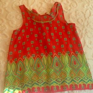Tops - EUC Boutique Tank with Back Bow Detailing