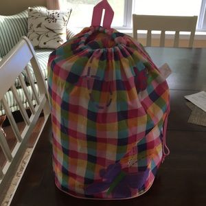 Girls Sleeping Bag with backpack