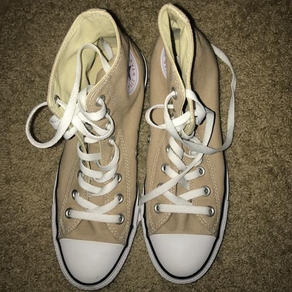 Converse Shoes   Nude Converse High