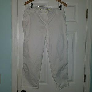 Pants - White Cotton Pants