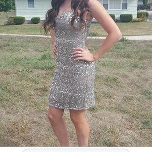 Dresses & Skirts - Strapless sequined dress