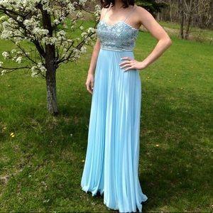 Dresses & Skirts - Pastel blue prom dress