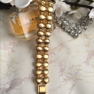 Brighton Chunky Gold Circle Bracelet