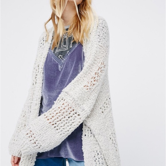 d3bbc23c8c9 M 59b5bbb75c12f8529105f60d. Other Sweaters you may like. Free People wool cardigan  sweater
