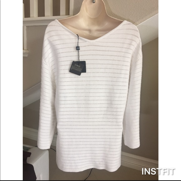 NEW beautiful white sweater XL from Lulu's 🎀's closet on Poshmark
