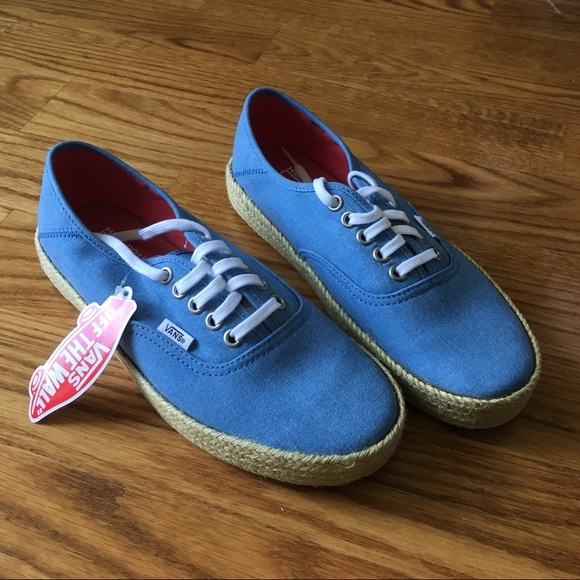 5544f3c996 NEW Vans Authentic ESP in Washed Canvas Blue