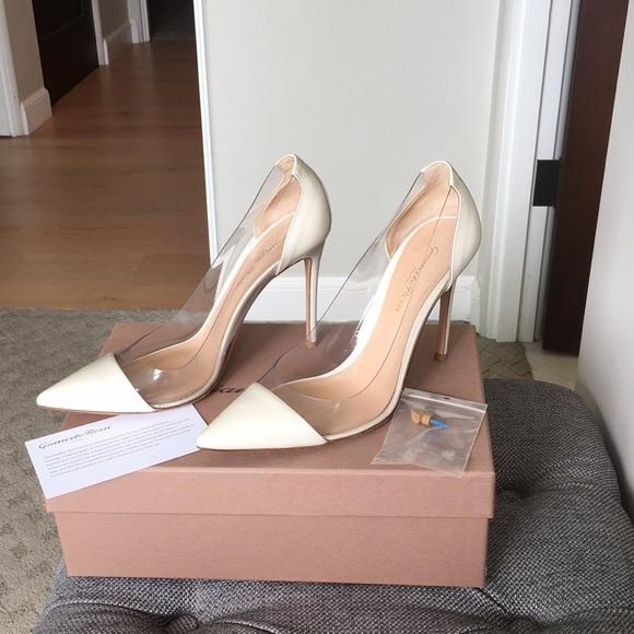 9af4c33464 Gianvito Rossi Shoes   Beautiful Plexi Heels   Poshmark