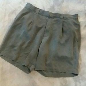 Tommy Bahama men's size 35 grey/blue shorts