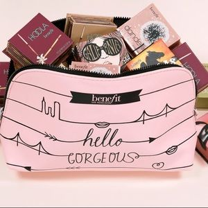 NEW! Benefit Cosmetics Makeup Bag Pouch Case
