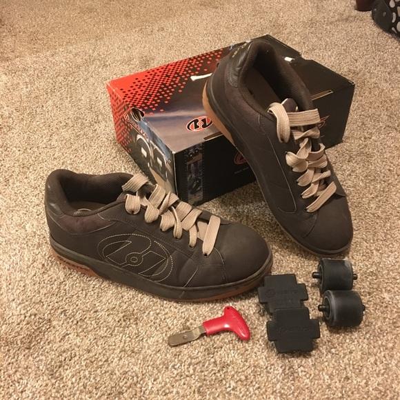 Heelys Shoes   Mens Heelys Brown Skate