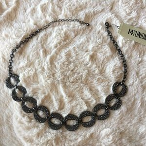 Beautiful black rhinestone necklace from Nordstrom