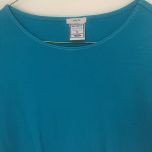 Old navy easy fit blue tee size medium