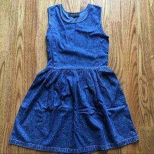 NEW Denim Sleeveless Dress