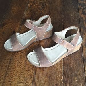 16474e95687e White Mountain Shoes - White Mountain Haines Cork Wedge Sandal