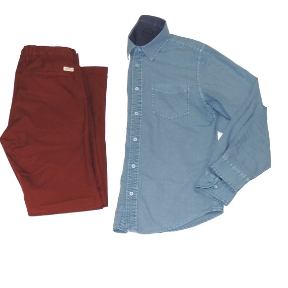 Best Hombre Fashion Other - HP! Slim Chino Pants - Burgundy
