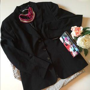 Classic Black Suit Jacket