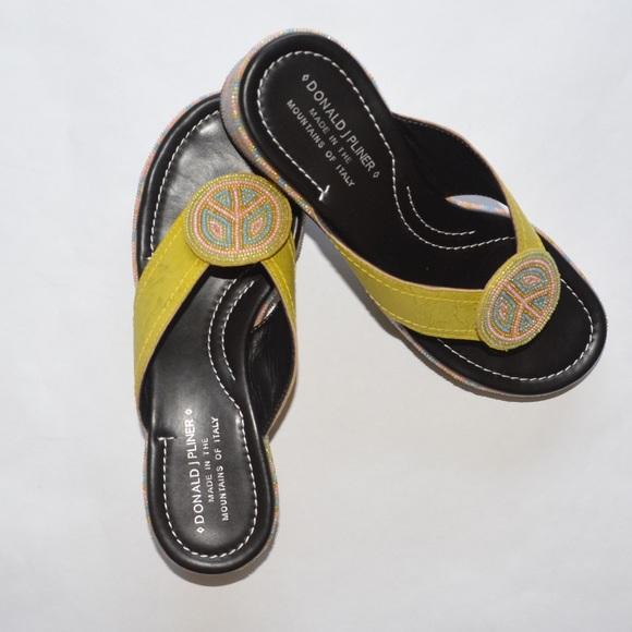 a0eec2fabd0 Donald J. Pliner Shoes - Donald J Pliner Selena Peace Platform Sandals NWOT