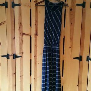Blue Michael Stars Maxi Dress