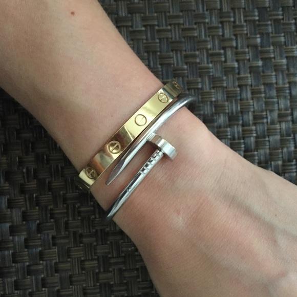 105696da Cartier Jewelry | Hp Authentic Juste Un Clou Bracelet | Poshmark