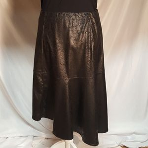 Soft Works faux leather skirt