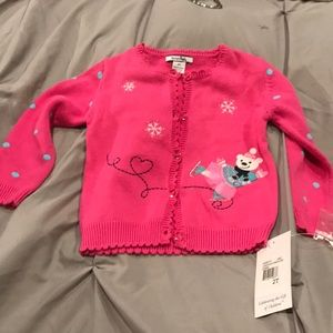 NWT Toddler hartstring sweater