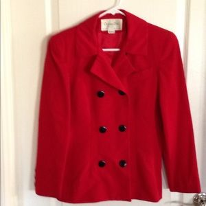 Christian Dior-Perfect Vintage 80's Jacket– size 4