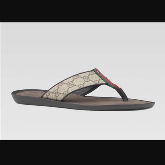 9ac1b2f32fa4 Gucci Other - 🆕Men s GUCCI Monogram Flip Flop Sandals