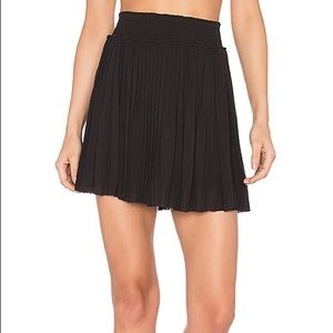 Joie black pleated skirt size XS