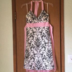 Ruby Rox black and white dress
