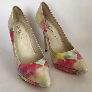 Alice + Olivia Danny Water Color Heels