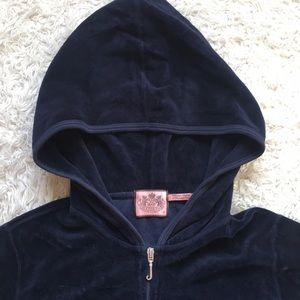 Juicy Couture Velour Track Jacket | Medium