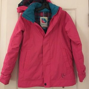 Burton Girls Lynx Snowboard jacket! Like new!