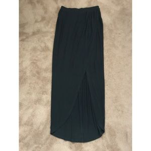 F21 / HighLow Draped Skirt