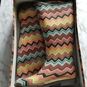 Missoni for Target rainbows sz 8