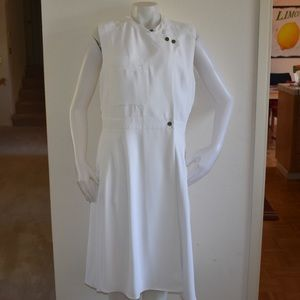 RACHEL ROY White Utility Wrap Sleeveless Dress XL