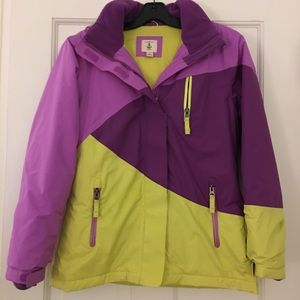 Land's End Girls Ski Coat. Great colors!