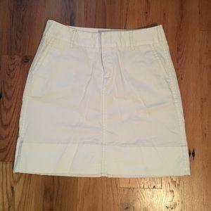 Merona white cargo skirt size 4