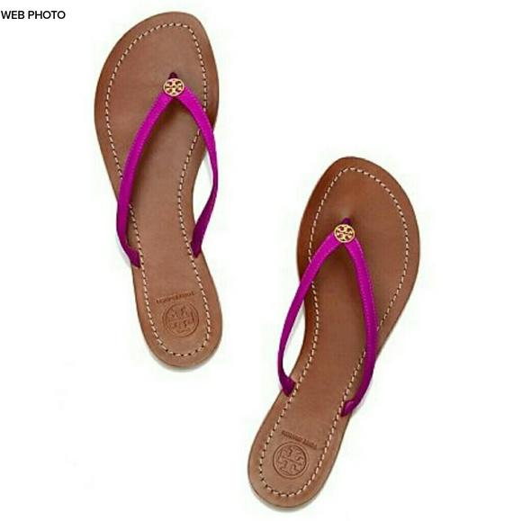 9a96786dd TORY BURCH Terra Violet Glow Suede Sandal. M 59b5d844eaf0302d7b069b77