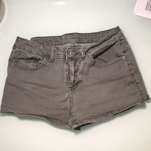 Green Shorts, Worn Once