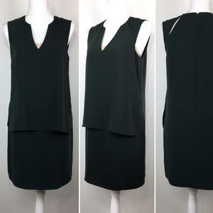 REISS forest green loose dress Sz 6