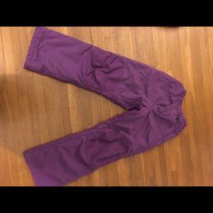 Land's End Girls snow pants. Great color! EUC!
