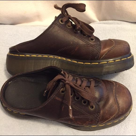 Dr. Martens Shoes   Backless Dr Martens