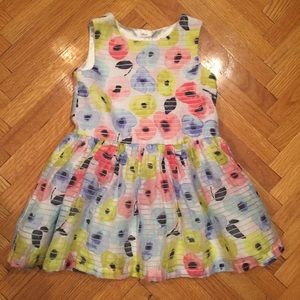 Beautiful Floral Toddler Dress w/ Tulle