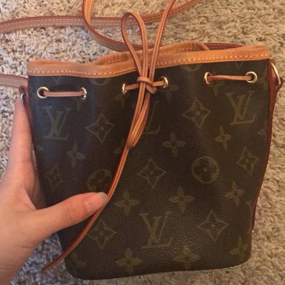 Louis Vuitton Bags   Authentic Monogram Nano Noe Bag   Poshmark 806dd5728a