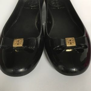 Tory Burch Shoes - Tory Burch Jelly Bow Ballet Rain Flats
