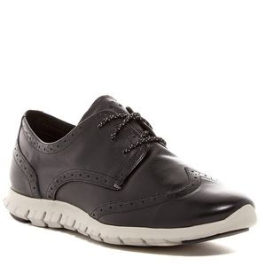 New Cole Haan Zerogrand Leather Oxford Sneakers