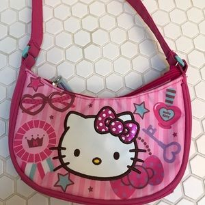 9cf8eff164 Hello Kitty Accessories - Hello Kitty girls purse and slippers