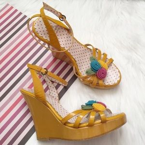 Authentic Moschino Wedges