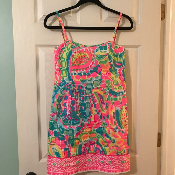 ef19b3ece7838e Lilly Pulitzer Dresses & Skirts - Lilly puliTzer shelli dress come out of your  shell