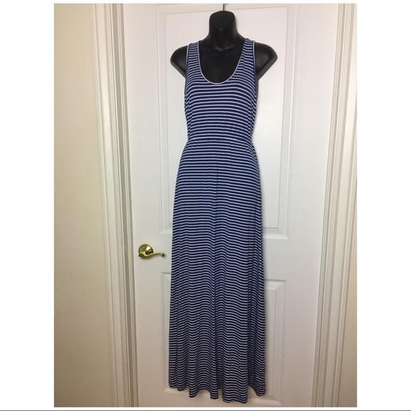 7a0275f9e71 J. Crew Striped Maxi Dress with Tie Waist